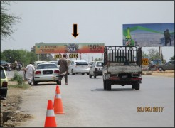 Kashmir Highway Toll Plaza Gantry